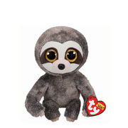 Ty Beanie Boos Dangler, grey Sloth Medium