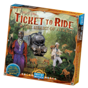 Ticket to ride Afrika Lisäosa Ticket to Ride peliin