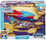 My Little Pony Rainbow Dash Swashbuckler Pirate Airship