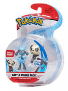 Pokemon Battle Figure Pack Pancham + Riolu