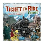 Ticket To Ride Europe lautapeli Menolippu Eurooppa