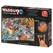 Wasgij Mystery 1000 palan palapeli A Purrrfect Escape!
