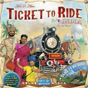 Ticket to Ride India lisäosa Ticket to Ride peliin