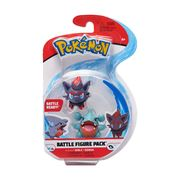 Pokemon Battle Figure Pack Gible + Zorua