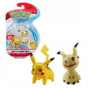 Pokemon Battle Figure Pack Mimikyu + Pikachu