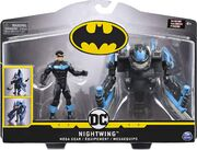 Batman Nightwing 10cm + Mega Gear