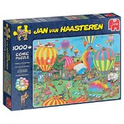 Jan van Haasteren 1000 palan palapeli The Balloon Festival