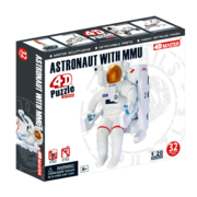 4D Puzzle Astronaut with  MMU