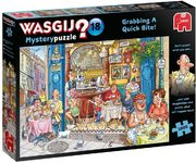 Wasgij Mystery Puzzle Grabbing A Quick Bite! Nr 14