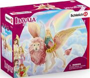 Schleich Bayala 70714 Fairy In Flight on Winged Lion