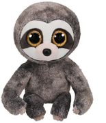 Ty Beanie Boos Dangler, grey sloth 15cm