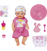 Baby Born Little Girl Soft Touch Nukke