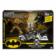 Batman Batcykle Batman vs. Clayface