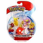 Pokemon Battle Figure Set Magikarp+Pikachu+Ditto