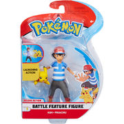 Pokemon Battle Feature Figure Ash + Pikachu