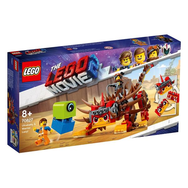 Lego Movie Ultrakatti ja Soturi Lucy 70827