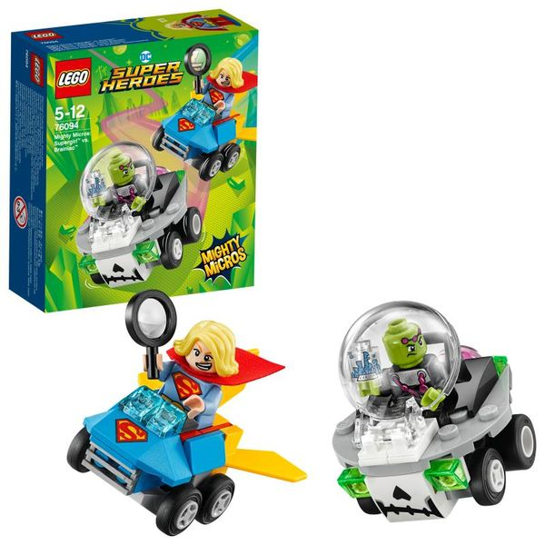 Lego Superheroes Mighty Micros Supergirl vs. Brainiac 76094