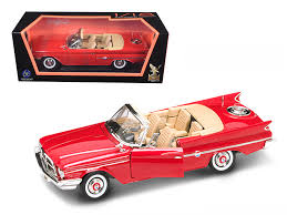 Road Signature Collection 1960 Chrysler 300F 1:18 punainen