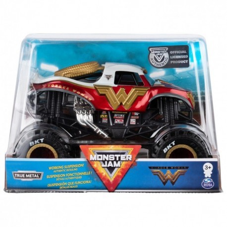 Monster Jam  Collector Truck 1:24 Wonder Woman