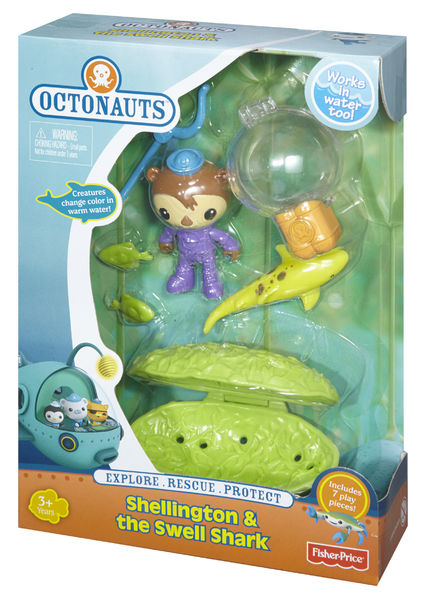 Octonauts Shellington & The Swell Shark