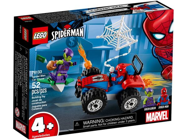 Lego Super Heroes Spider-Manin autotakaa-ajo 76133