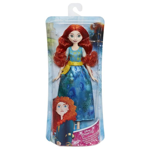 Disney Princess Royal Shimmer Merida nukke