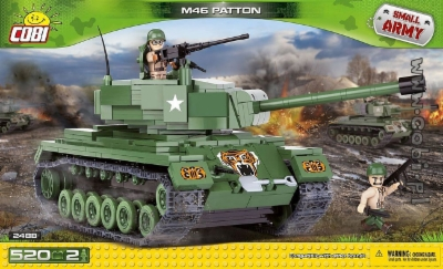 Cobi M-46 patton tankki