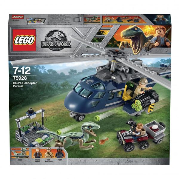 Lego Jurassic World Blue´s Helicopter Pursuit 75928