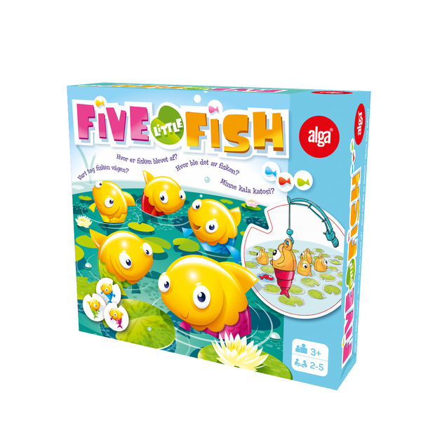 Alga Five little fish peli