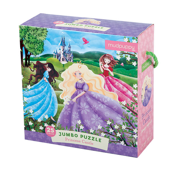 25 jumbo puzzle Princess castle