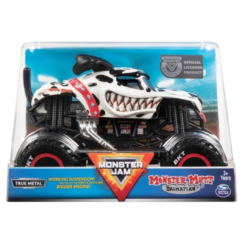 Monster Jam Collector Truck 1:24 Monster Mutt Dalmatian
