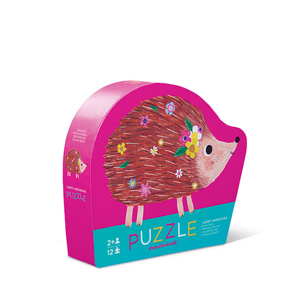 Puzzle Happy Hedgehog 12 palaa