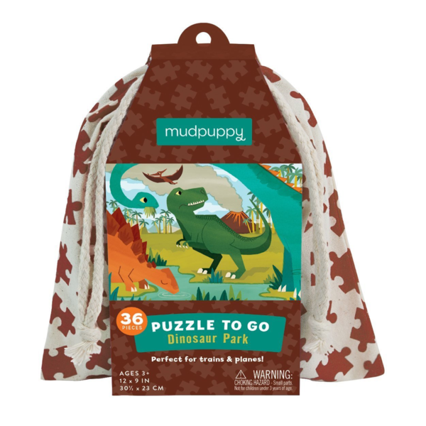 Puzzle to Go/ Dinosaur Park