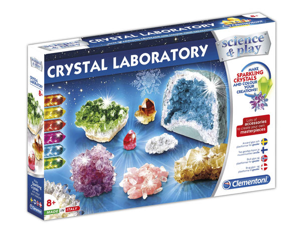 Science & Play Clementoni Crystal Laboratory