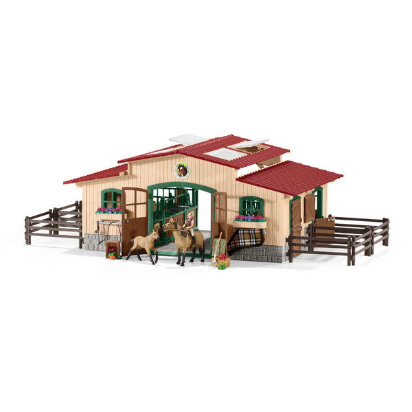 Schleich Farm World talli+ tarvikkeet