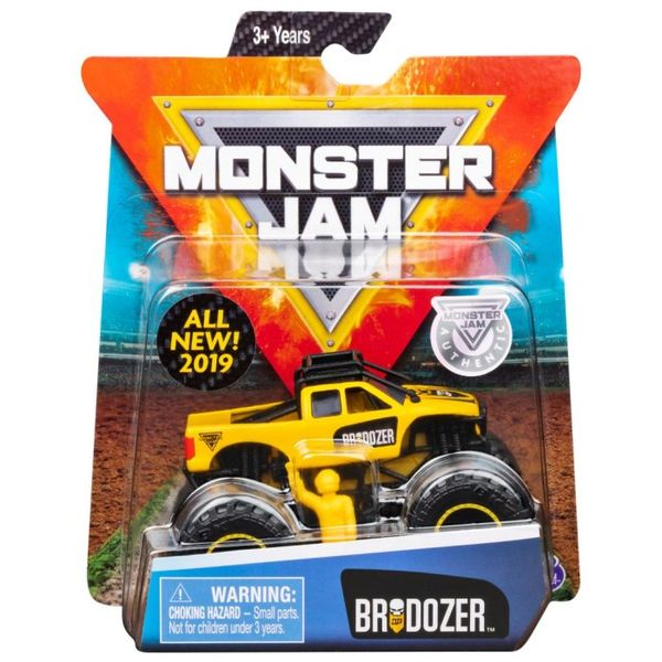 Monster Jam Brodozer auto 1:64