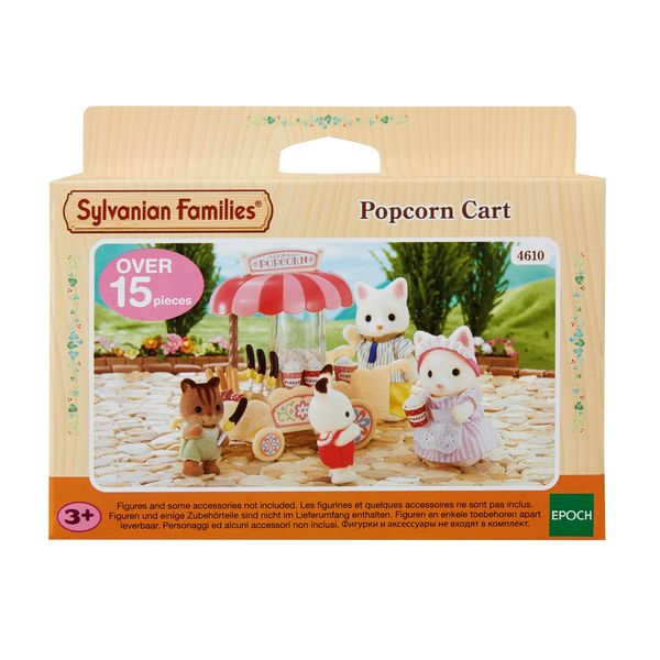 Sylvanian Families  Pop Corn Kärry