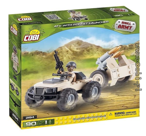 Cobi Atv with Rocket Launcher