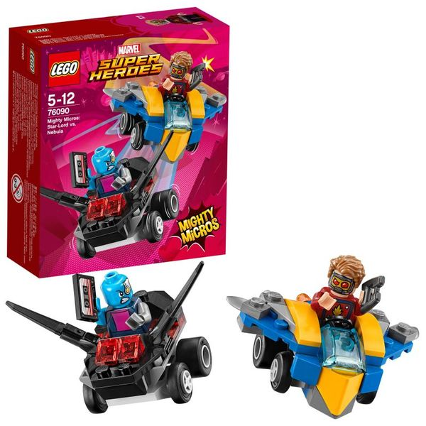 Lego Superheroes Mighty Micros Star-Lord vs Nebula 76090