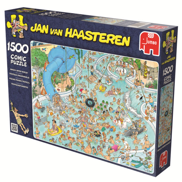 Jan van Haasteren Whacky Weather World 1500 palaa