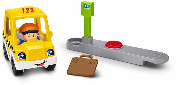 Fisher-Price Little People  Stop & Go Taksi