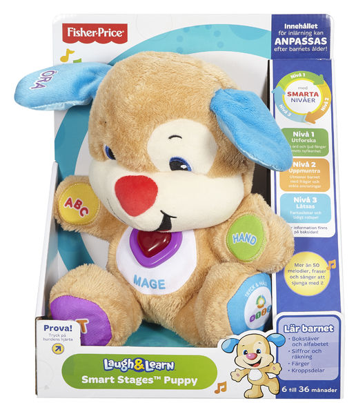 Fisher-Price Smart Stages Puppy ruotsinkielinen