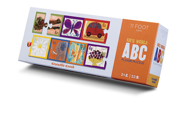 11 foot Kids world ABC floor puzzle 52 palaa