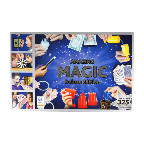 Amazing Magic Deluxe Edition 325 taikatemppua