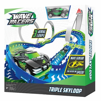 Wave Racers Triple Skyloop autorata 1 autolla