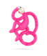 Matchstick Monkey Mini Teether Purulelu Pinkki